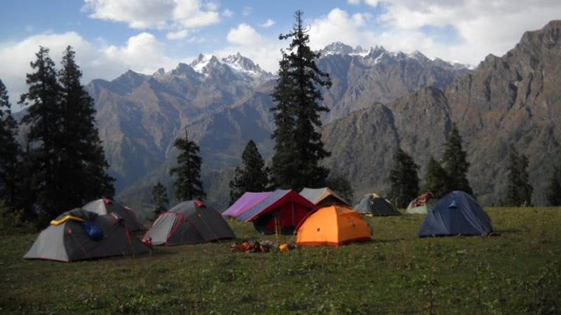 adventure camps in Manali